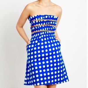 Anthropologie Judith March Polka Dot Sundress